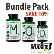PurePharma Bundle Pack - Omega, Minerals, Vitamin D