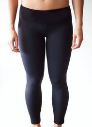 WOD Gear   Black Women's Crop Pants