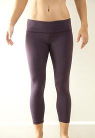WOD Gear   Eggplant Women's Crop Pants
