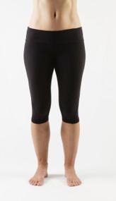 WOD Gear   Black Women's Runner Crop Pants