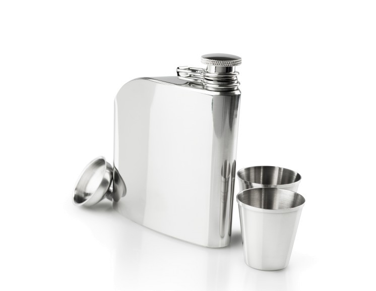 GSI STAINLESS TRADITIONAL FLASK SET