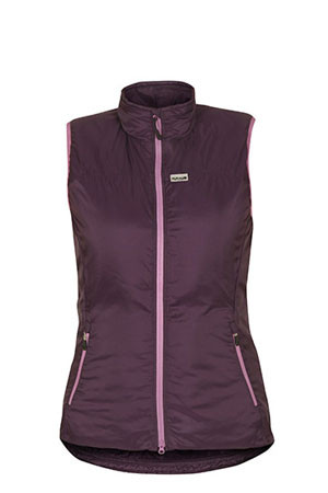 WOMEN'S TORRES MEDIO GILET ELDERBERRY