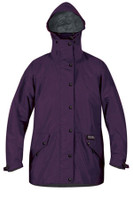 WOMEN'S CASCADA WATERPROOF JACKET ELDERBERRY