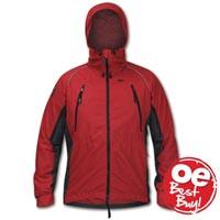 Fuera Ascent Windproof Jacket Chilli Pepper / Cark Grey