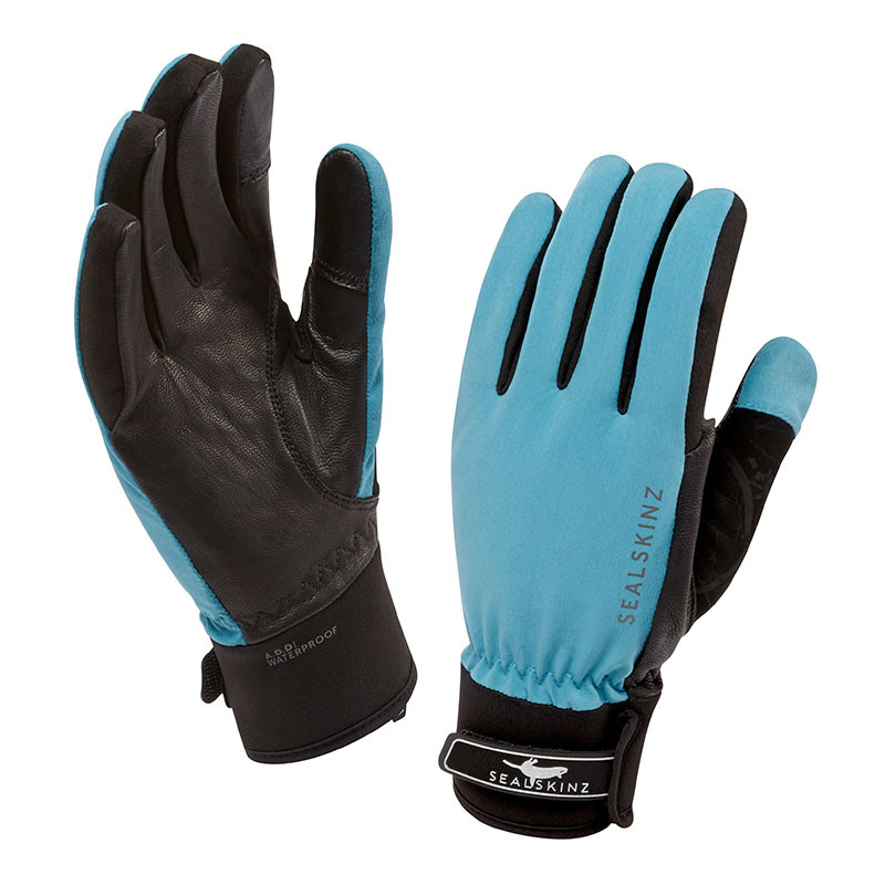 Women's All Season Gloves Aqua