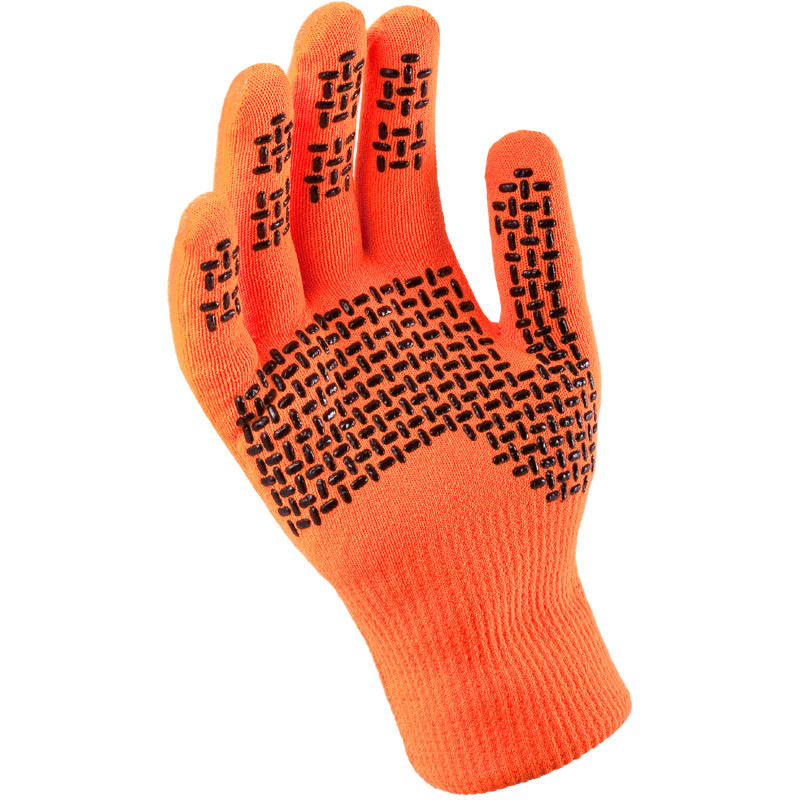 Ultra Grip Hi Vis Gloves - Orange