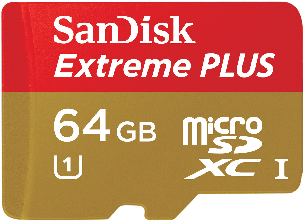 SanDisk 64GB Extreme Plus Micro SD card