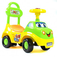 Ride On For Babies And Toddlers - Green And Yellow Car