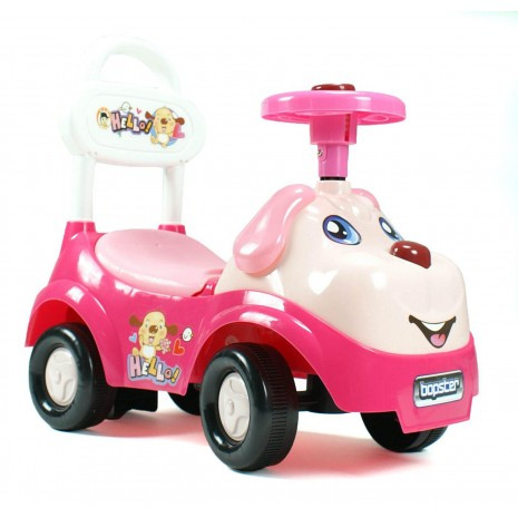 Ride On For Babies And Toddlers - Pink Dog