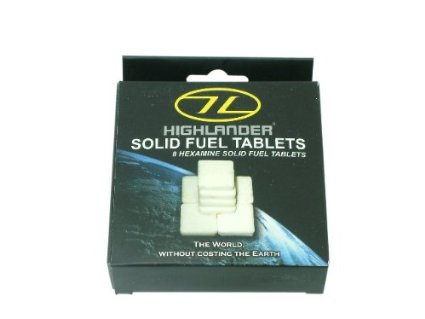 HIGHLANDER SOLID FUEL TABLETS