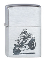 ZIPPO MOTORCYCLE WHEELIE LIGHTER