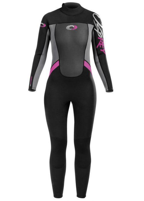 Girl's Origin Pink Long 3/2mm Wetsuit