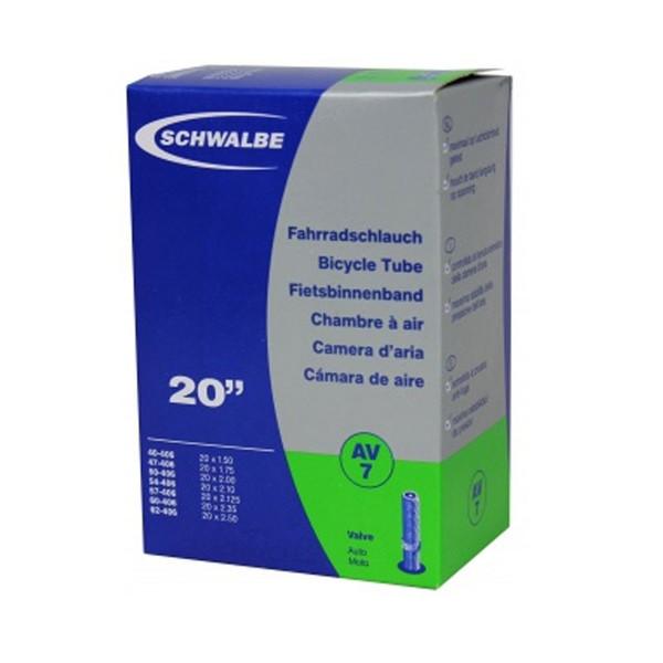 20 X 1.50 - 2.50 INNER TUBE   SCHRADER VALVE