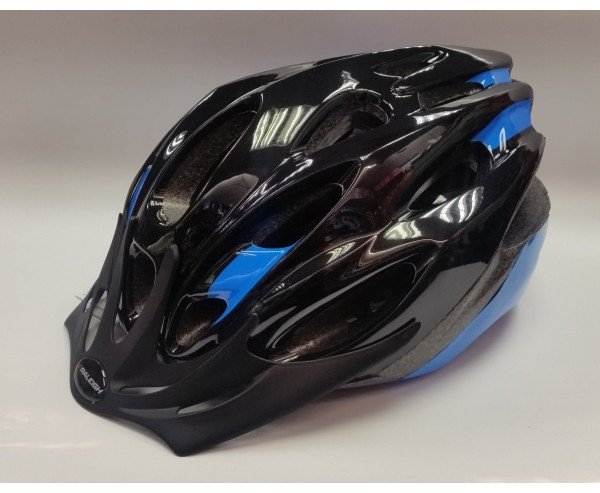 MISSION EVO CYCLE HELMET BLACK/BLUE