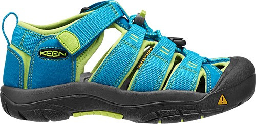 KEEN TKIDS NEWPORT H2 - HAWAIIAN BLUE/GREEN GLOW