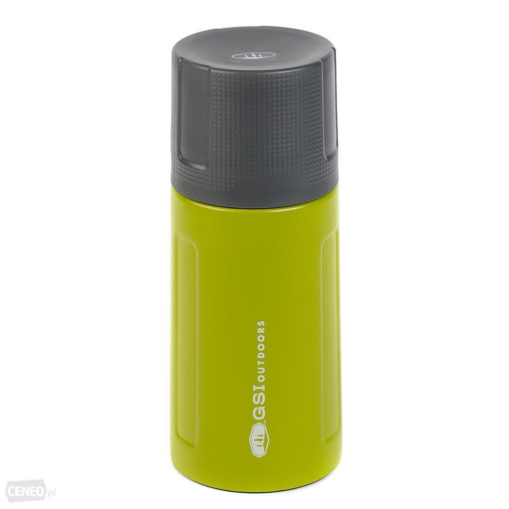 GSI 500ML VACUUM FLASK/BOTTLE   GREEN