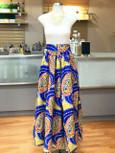 Lemonade - African Print Long Skirt