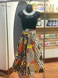 Fall Festival - African Print Mid-Length Skirt