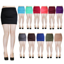 Ponti Bodycon Pencil Mini Skirt