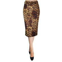Techno Bodycon Pencil Skirt