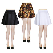 Techno Skater Mini Skirt