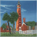 Ponce Inlet Lighthouse Tile/Trivet