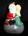 Santa & Mermaid Ornament