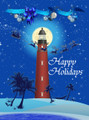 Custom 2015 Ponce Inlet Lighthouse Holiday Card