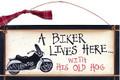 A Biker Lives Here