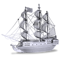 Black Pearl Ship Metal Model