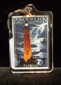 Ponce Lighthouse & Lightning Keychain