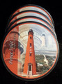 Set of 4 Ponce Inlet Lighthouse Coaster