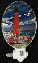 Custom Ponce Inlet Lighthouse Night Light