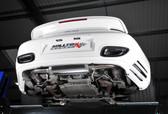 Milltek Sport Porsche 997.2 Turbo Turbo-Back Exhaust (not legal for road use)