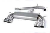 Milltek Sport VW MK7 Golf R Non-Valved, Non-Resonated, Polished Oval Tip Cat-Back Exhaust