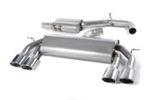 Milltek Sport VW MK7 Golf R Non-Valved, Resonated, Polished Oval Tip Cat-Back Exhaust