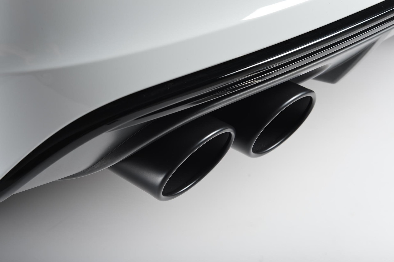 Milltek Resonated Valvesonic Exhaust With Apr Downpipes On S6