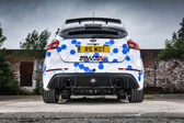 Milltek Sport Ford Focus RS Cat-Back Exhaust, Resonated, Titanium GT 115mm Tips