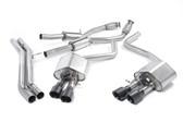 Milltek Sport Audi S8 4.0T Resonated Cat-Back Exhaust, Cerakote Black Tips