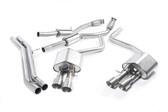 Milltek Sport Audi S8 4.0T Resonated Cat-Back Exhaust, Titanium Tips