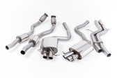 Milltek Sport Audi RS5 Catback Exhaust, Resonated Downpipes, Non-Resonated Center