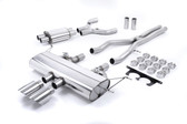 Milltek Sport F-Type S 3.0 V6 Coupe Valved Cat-Back Exhaust With Polished Tips