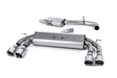 Milltek Sport VW MK7 Golf R Non-Valved, Resonated, Polished Round Tip Cat-Back Exhaust