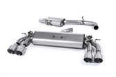Milltek Sport VW MK7 Golf R Valved, Resonated, Titanium Round Tip Cat-Back Exhaust