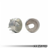 034Motorsport Rear Differential Carrier Mount Insert Kit, B6/B7 Audi A4/S4/RS4, Billet Aluminum