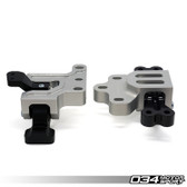 Motorsport Engine/Transmission Mount Pair, MkV/MkVI Volkswagen Golf/Jetta/GTI/GLI & 8J/8P Audi A3/TT 2.0T, Billet Aluminum