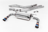 Milltek Sport BMW M240i Resonated Cat-Back with Burnt Titanium Tips