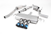 MILLTEK SPORT Honda Civic CAT-BACK EXHAUST, RESONATED, Burnt Titanium TIPS