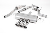 Milltek Sport Honda Civic Cat-Back Exhaust, Resonated, Polished Tips
