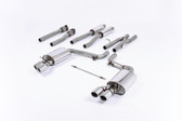 Milltek Sport Audi C6 S6 5.2 V10 FSI Quattro Cat-back - Resonated (quieter) exhaust
